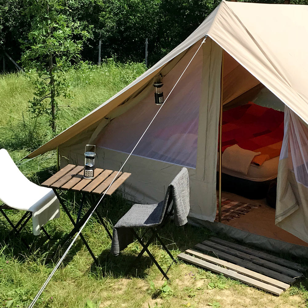 Patrol Deluxe glamping tent for 2 person